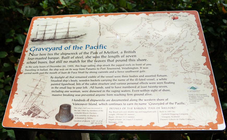 Pass of Melfort Shipwreck
